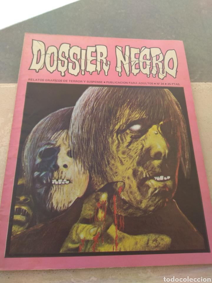 REVISTA DOSSIER NEGRO N°34 (Tebeos y Comics - Ibero Mundial)