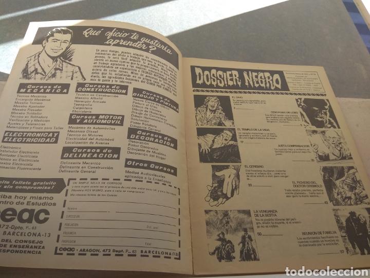 Tebeos: Revista Dossier Negro N°34 - Foto 4 - 152449385