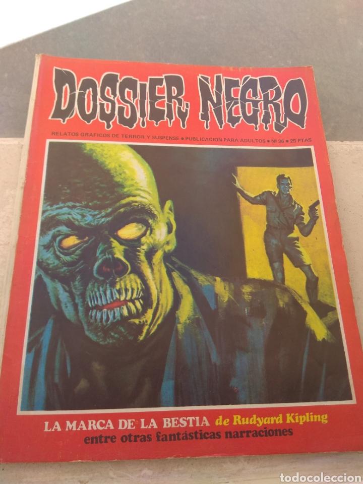 REVISTA DOSSIER NEGRO N°36 (Tebeos y Comics - Ibero Mundial)