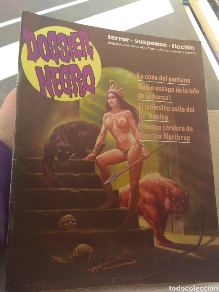 REVISTA DOSSIER NEGRO N°212 (Tebeos y Comics - Ibero Mundial)