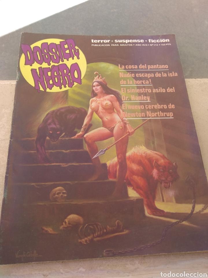 Tebeos: Revista Dossier Negro N°212 - Foto 2 - 152454856
