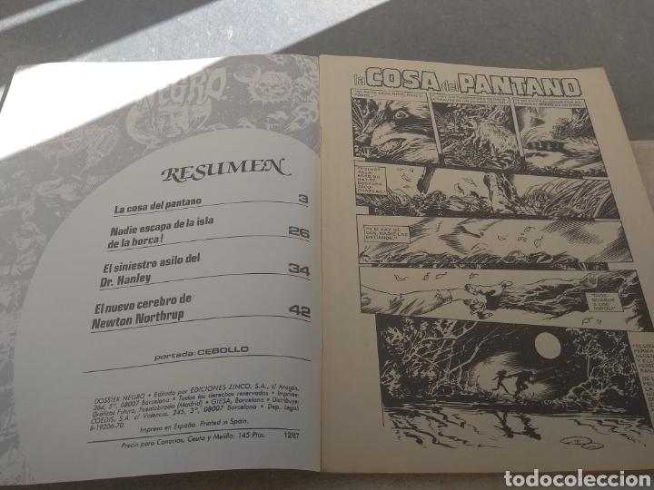 Tebeos: Revista Dossier Negro N°212 - Foto 4 - 152454856