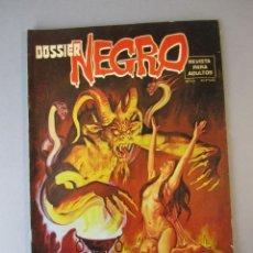 Tebeos: DOSSIER NEGRO (1968, IMDE / DELTA / ZINCO) 101 · X-1977 · DOSSIER NEGRO. Lote 152577398
