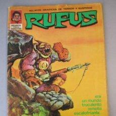 Livros de Banda Desenhada: RUFUS (1973, IMDE / GARBO) 6 · XI-1973 · NO ME GUSTARÍA VIVIR ALLÍ. Lote 152733118