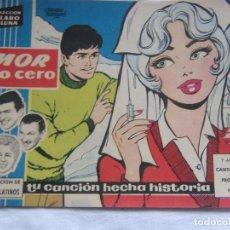 Tebeos: COLECCIÓN CLARO DE LUNA NÚM. 60 AMOR BAJO CERO. Lote 156003766