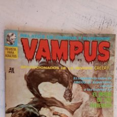 Tebeos: VAMPUS Nº 5 - REED CRANDALL, GRAY MORROW, JAIME BROCAL REMOHI, EUGENE COLAN, ALFONSO FIGUERAS. Lote 157080230