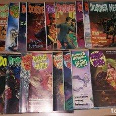 Livros de Banda Desenhada: LOTE 16 COMICS DOSSIER NEGRO ENTRE 170 Y 212. Lote 192063801