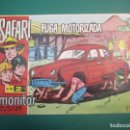 Tebeos: SAFARI (1965, IMDE) 28 · 30-VI-1966 · FUGA MOTORIZADA. Lote 160546310