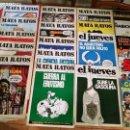 Tebeos: GRAN LOTE DE MATA RATOS - EL JUEVES - EL HABICHUELO - ETC. - LOTE EN BUEN ESTADO. Lote 160641870