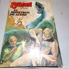 Tebeos: PYTHON EL MONSTRUO DE ACERO NUMERO 1. Lote 163774826