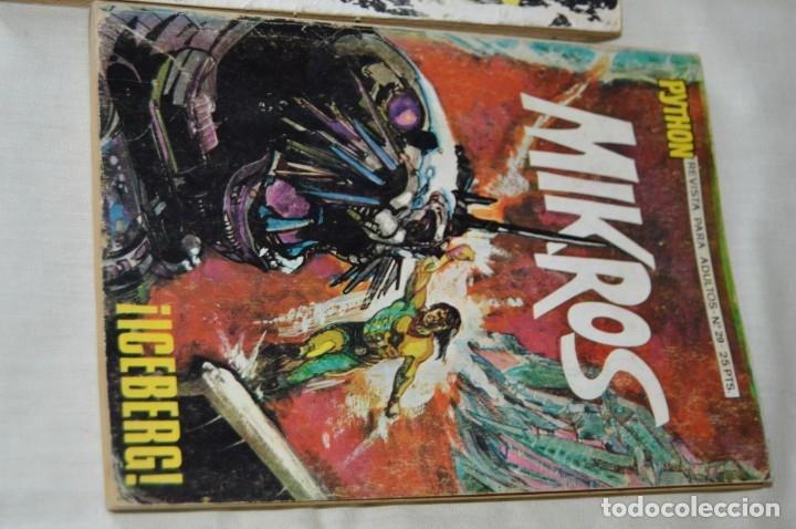 Tebeos: LOTE 03 Revista para adultos - PYTHON / MIKROS - Números 18 - 26 y 29 - ¡Mira fotografías/detalles! - Foto 4 - 165088033