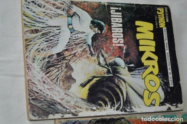 Tebeos: LOTE 03 Revista para adultos - PYTHON / MIKROS - Números 18 - 26 y 29 - ¡Mira fotografías/detalles! - Foto 3 - 165088033