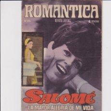 Livros de Banda Desenhada: ROMÁNTICA Nº 375. CON UN PÓSTER DE ELVIS PRESLEY. Lote 167618100