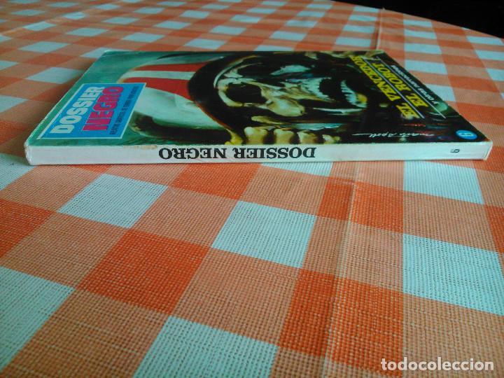 Tebeos: DOSSIER NEGRO nº 6 y 12 (Iberomundial 1968/70) Tapas de carton 21x15 cm. y 128 páginas. - Foto 3 - 168047444