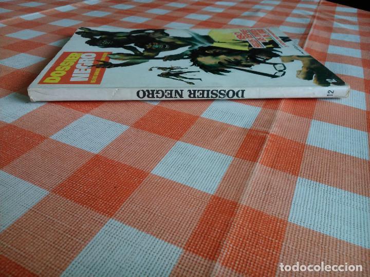 Tebeos: DOSSIER NEGRO nº 6 y 12 (Iberomundial 1968/70) Tapas de carton 21x15 cm. y 128 páginas. - Foto 6 - 168047444