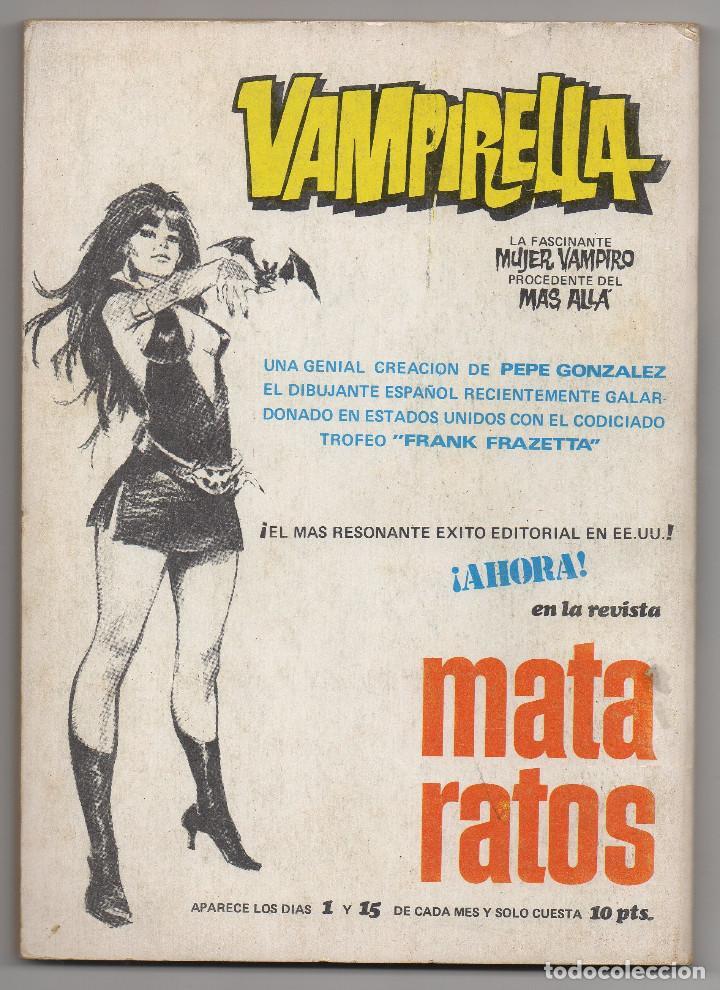 Tebeos: DOSSIER NEGRO nº 6 y 12 (Iberomundial 1968/70) Tapas de carton 21x15 cm. y 128 páginas. - Foto 7 - 168047444