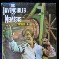 Tebeos: LOS INVENCIBLES DE NÉMESIS Nº 4 (IBERO MUNDIAL DE EDICIONES) 1969. Lote 169735168
