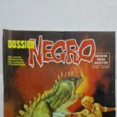 Tebeos: DOSSIER NEGRO - RELATOS GRAFICOS DE TERROR Y SUSPENSE, Nº 108, AÑO 1970. Lote 171805137