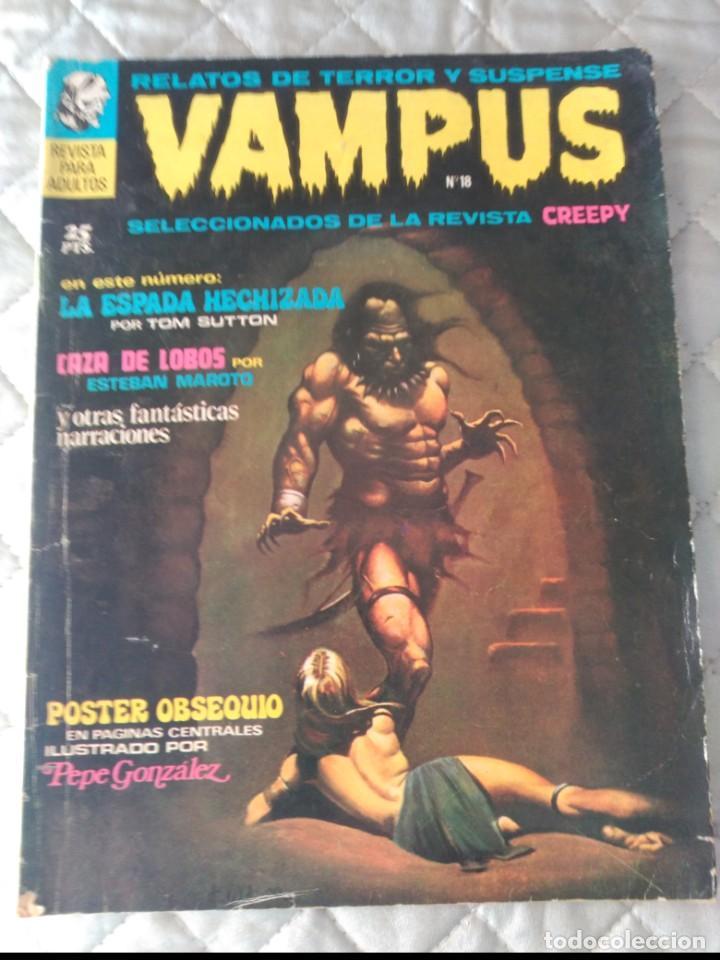 VAMPUS Nº 18 SIN POSTERS (Tebeos y Comics - Ibero Mundial)