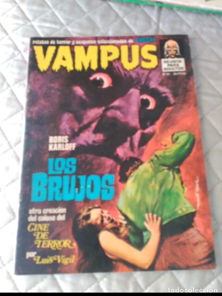 VAMPUS Nº 31 CON POSTERS (Tebeos y Comics - Ibero Mundial)