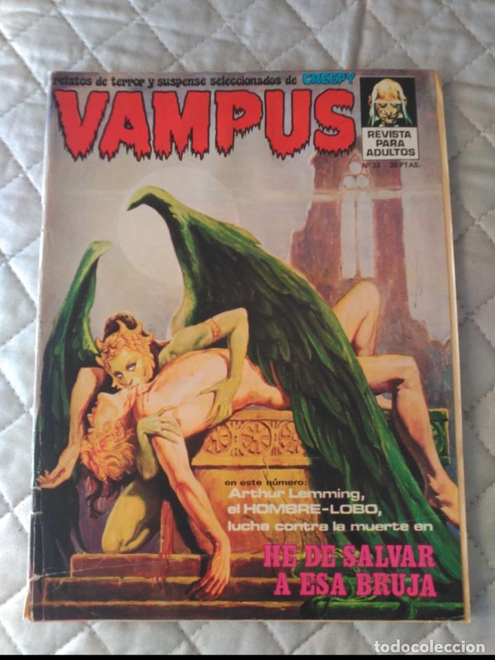 VAMPUS Nº 33 CON POSTERS ORIGINAL IBEROMUNDIAL (Tebeos y Comics - Ibero Mundial)