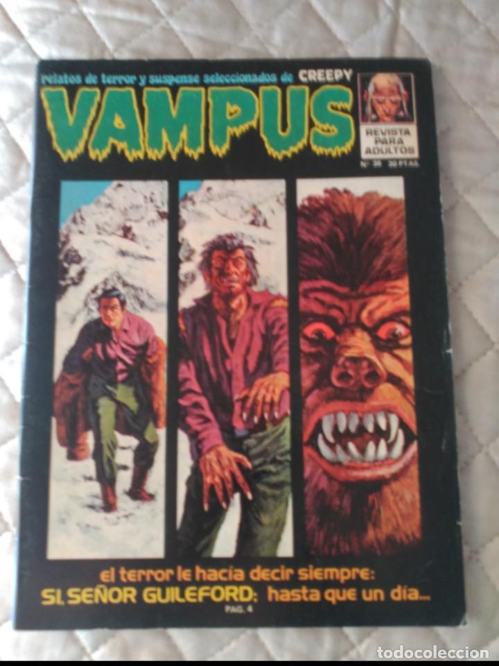 VAMPUS Nº 38 SIN POSTERS (Tebeos y Comics - Ibero Mundial)