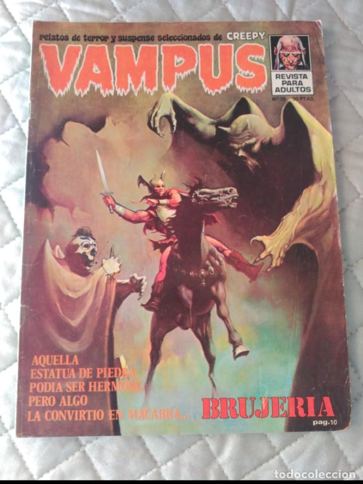VAMPUS Nº 39 CON POSTERS (Tebeos y Comics - Ibero Mundial)