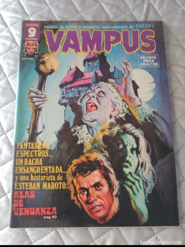 VAMPUS Nº 62 CON POSTERS ORIGINAL IBEROMUNDIAL (Tebeos y Comics - Ibero Mundial)