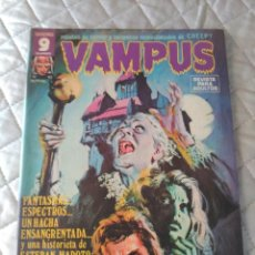 Tebeos: VAMPUS Nº 62 CON POSTERS. Lote 172090172