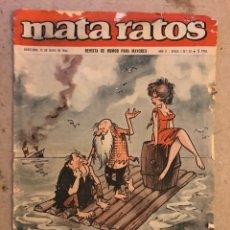 Tebeos: MATA RATOS N° 52 (IBERO MUNDIAL, MAYO 1966). REVISTA DE HUMOR PARA MAYORES.. Lote 174047914