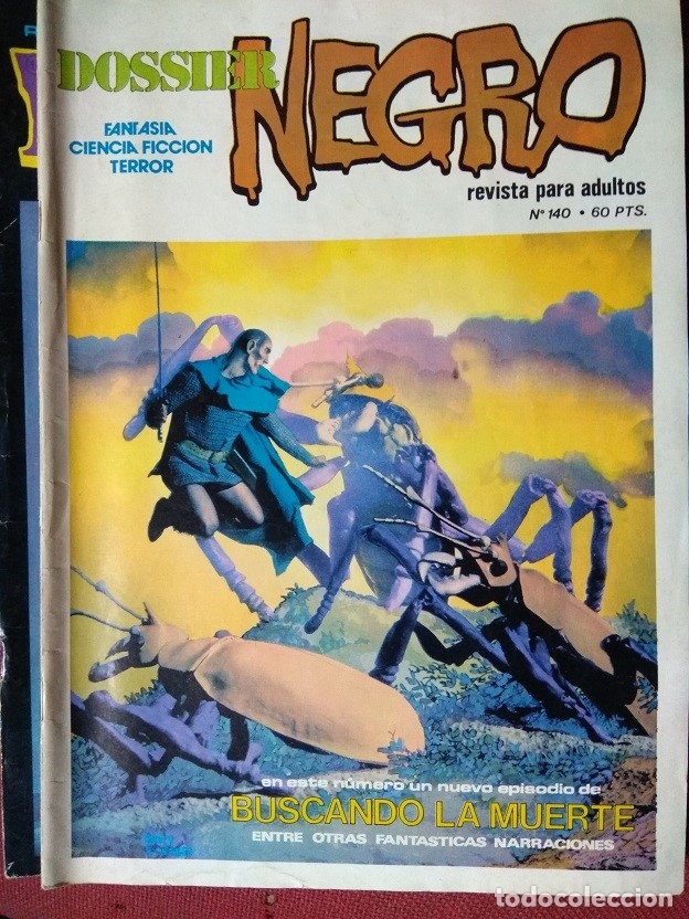 DOSSIER NEGRO Nº 140 (Tebeos y Comics - Ibero Mundial)