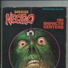 Tebeos: DOSSIER NEGRO EXTRA Nº 100 (IBERO MUNDIAL, 1970). Lote 176208765