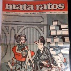 Tebeos: MATA RATOS - REVISTA DE HUMOR Y AMENIDADES - Nº 21 - 1965. Lote 176499824