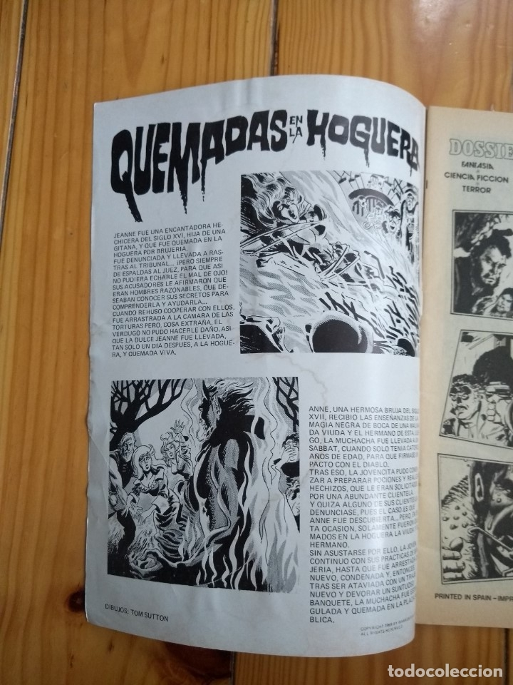Tebeos: Dossier Negro # 132 - D1 - Foto 7 - 176739654