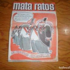 Tebeos: MATA RATOS. HUMOR Y AMENIDADES PARA MAYORES. Nº 187. SPTIEMBRE 1970. Lote 177673472