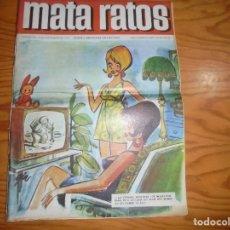 Tebeos: MATA RATOS. HUMOR Y AMENIDADES PARA MAYORES. Nº 164. SEPTIEMBRE 1969. Lote 177673852