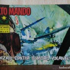 Tebeos: ALTO MANDO - AÑO II, Nº 19 CAZAS CONTRA BOMBAS VOLANTES - ED. IBERO MUNDIAL. Lote 178109443