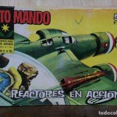 Tebeos: ALTO MANDO - AÑO II, Nº 24 REACTORES EN ACCIÓN - ED. IBERO MUNDIAL. Lote 178109894