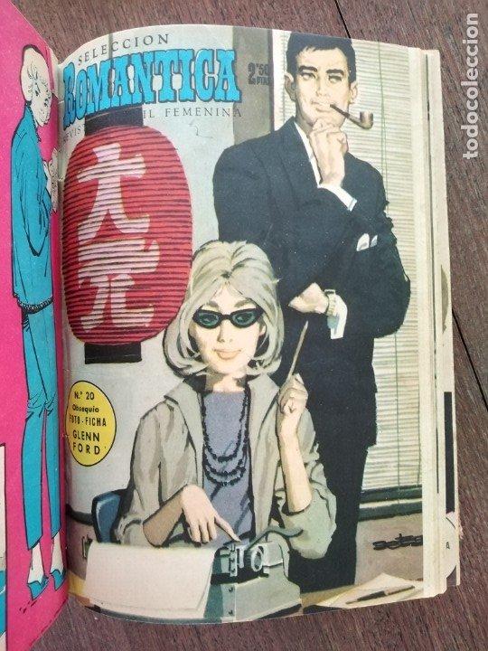 TOMO SELECCION ROMANTICA 1 AL 59 DE 1961 (Tebeos y Comics - Ibero Mundial)
