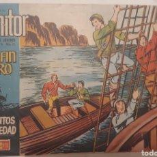 Tebeos: COMIC COLECCION MONITOR EL DELFÍN NEGRO N°32 1962. Lote 181514718