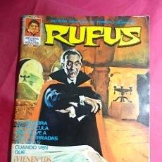 Tebeos: RUFUS . Nº 7. ¡VIENEN LOS VAMPIROS!. ÍBERO MUNDIAL. Lote 181948391