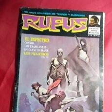 Tebeos: RUFUS . Nº 16. LOS NEGREROS. ÍBERO MUNDIAL - RESERVADO, NO COMPRAR. Lote 181965181