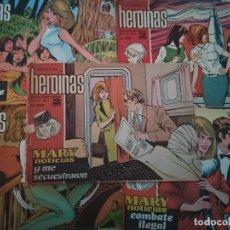 Tebeos: HEROINAS - REVISTA JUVENIL FEMENINA - 5 EJEMPLARES - AÑOS 60. Lote 182853531