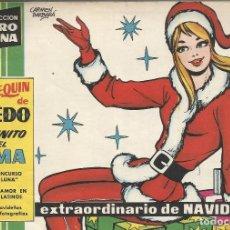 Livros de Banda Desenhada: COLECCION CLARO DE LUNA NUM. EXTRAORDINARIO DE NAVIDAD 1961. Lote 187426692