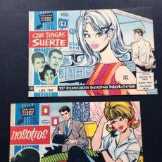 Livros de Banda Desenhada: 2 EJEMPLARES DIFERENTES / CLARO DE LUNA / CARMEN BARBARA / SIN USAR / AÑO 1959. Lote 189951680