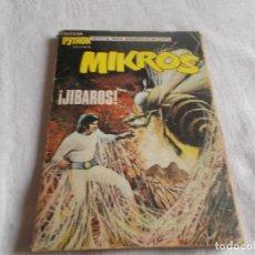 Tebeos: PYTHON Nº 26 MIKROS ¡JIBAROS!. Lote 190851957