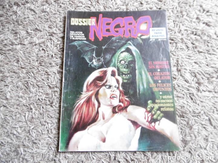 COMIC DOSSIER NEGRO Nº 76 (Tebeos y Comics - Ibero Mundial)