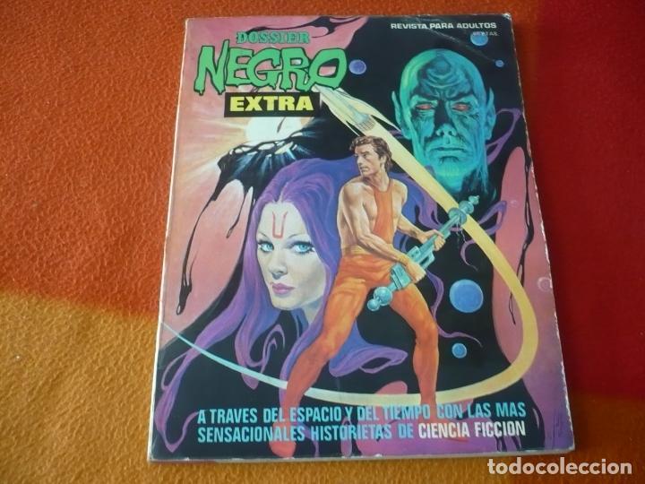 DOSSIER NEGRO EXTRA CIENCIA FICCION ¡BUEN ESTADO! 1976 IBERO MUNDIAL (Tebeos y Comics - Ibero Mundial)