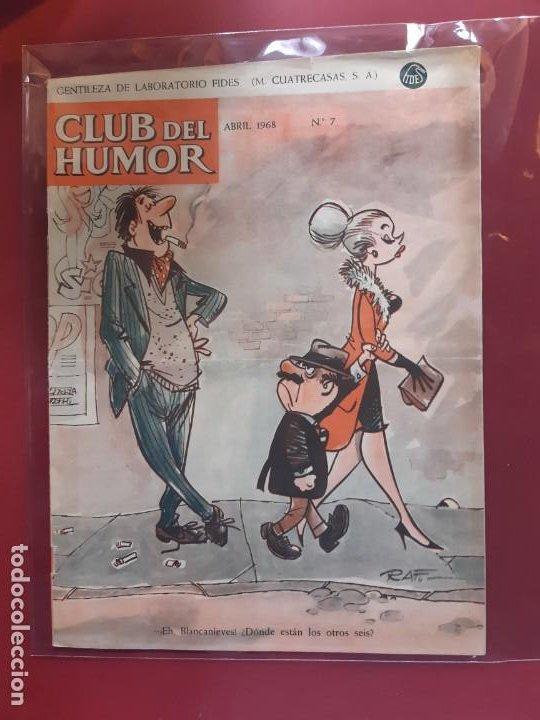 CLUB DEL HUMOR Nº 8 EXCELENTE ESTADO 1968 (Tebeos y Comics - Ibero Mundial)