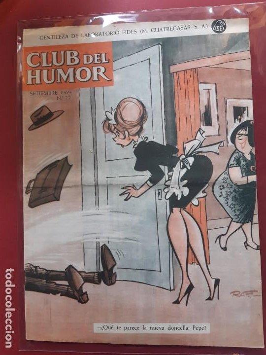 CLUB DEL HUMOR Nº 22 EXCELENTE ESTADO 1969 (Tebeos y Comics - Ibero Mundial)